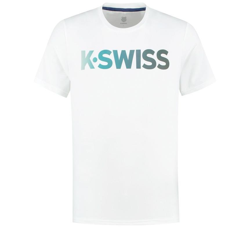 Camiseta Kswiss Hypercourt White 2020