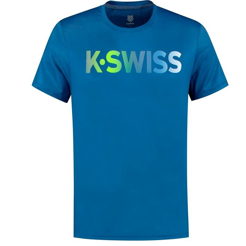 Camiseta Kswiss Hypercourt Sodalite Blue 2020