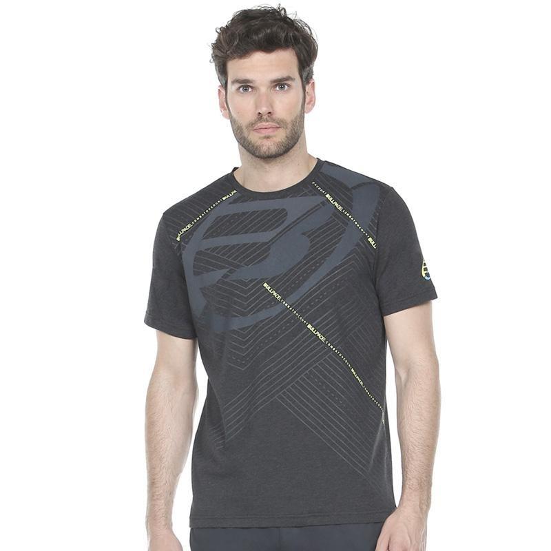 Camiseta Bullpadel Rasem Negro Vigore 2020
