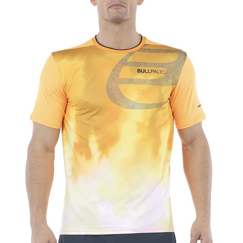 Camiseta Bullpadel Aranju Naranja 2020