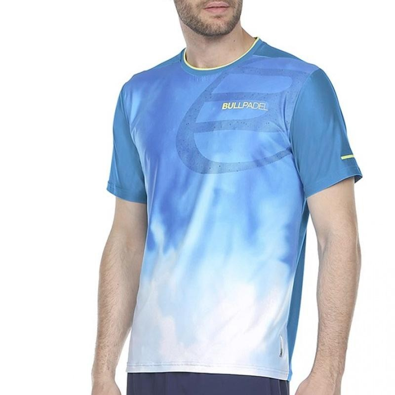 Camiseta Bullpadel Aranju Azul 2020