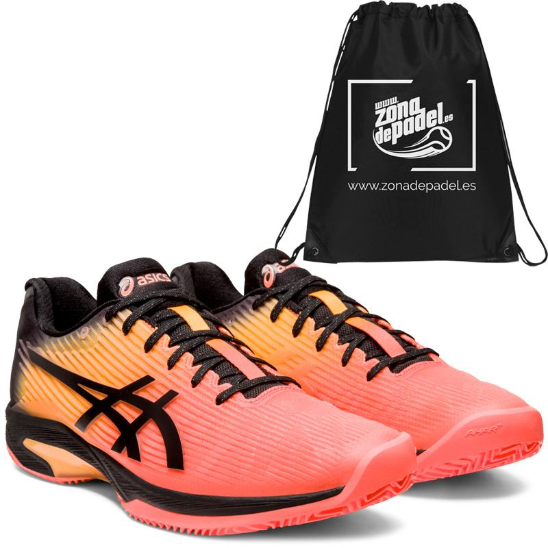 Asics solution speed ff clay le flash coral 2020