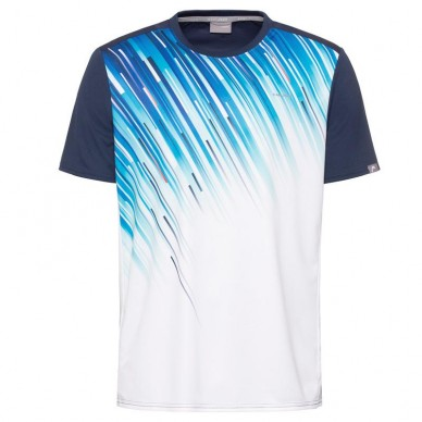 Head Camiseta Head Slider T-Shirt Azul 2020