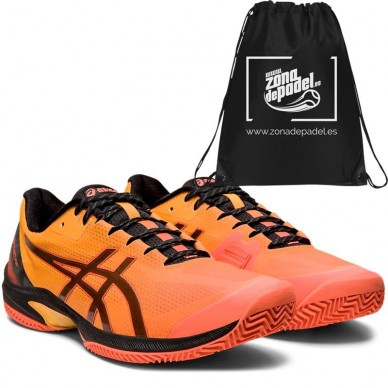 AsicsAsics Gel Court Speed FF Clay LE Flash Coral Black 2020