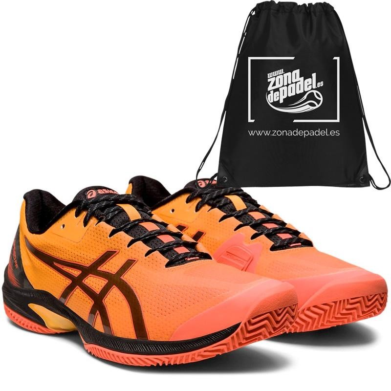 Asics Gel Court Speed FF Clay LE Flash Coral Black 2020