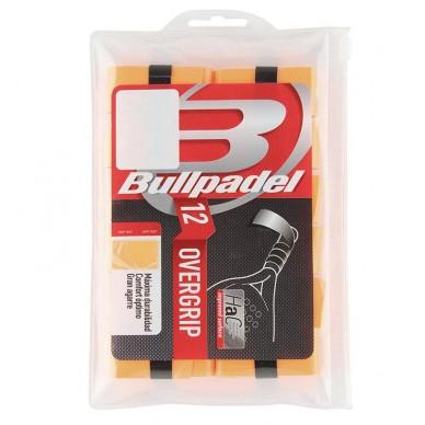 BullpadelOvergrips Bullpadel GB1600 Pack 12 Naranjas