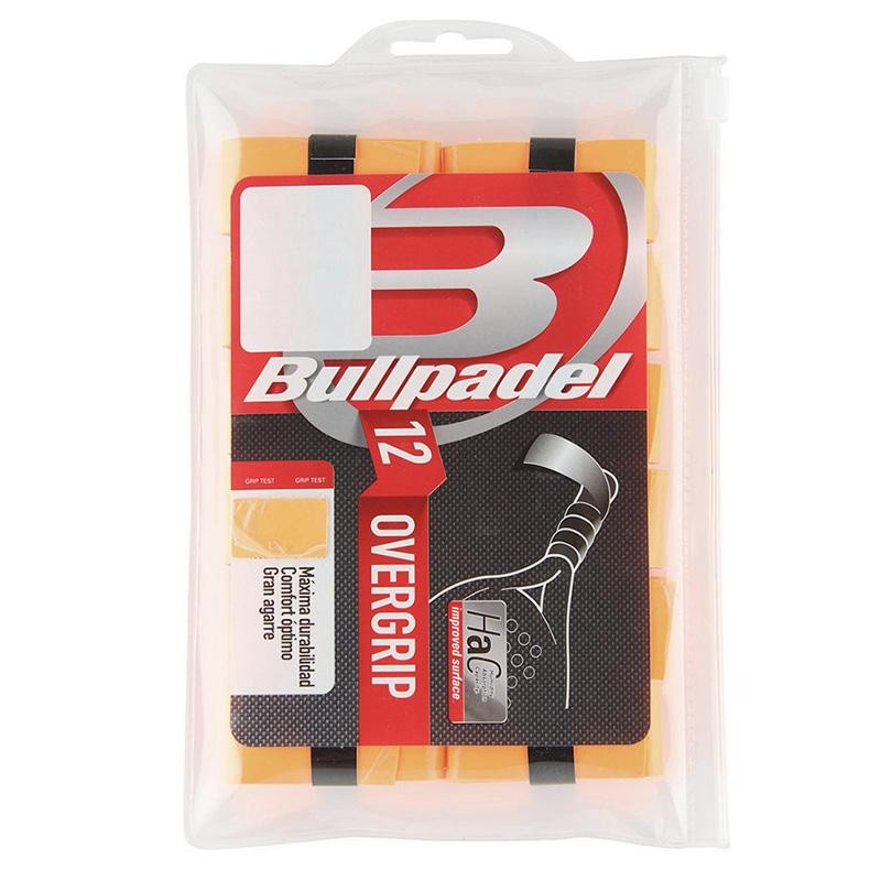 Overgrips Bullpadel GB1600 Pack 12 Naranjas