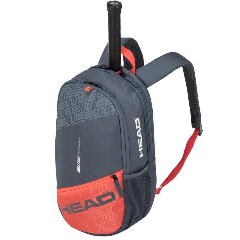 Mochila Head Elite BackPack Grey Orange 2020
