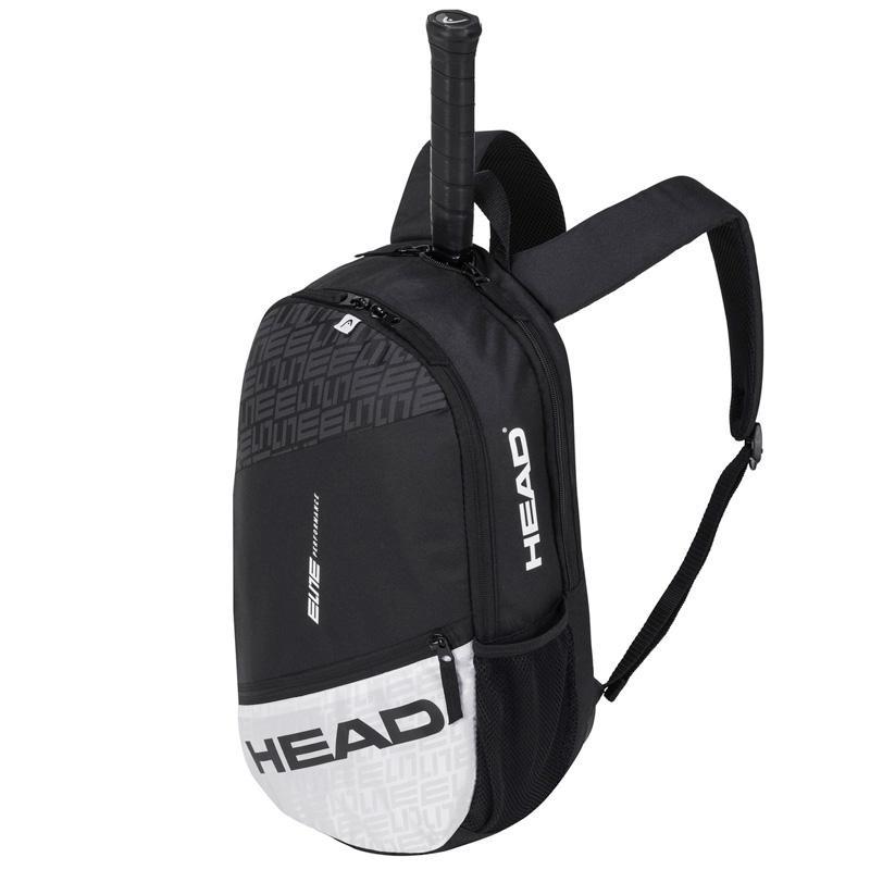 Mochila Head Elite BackPack Black White 2020