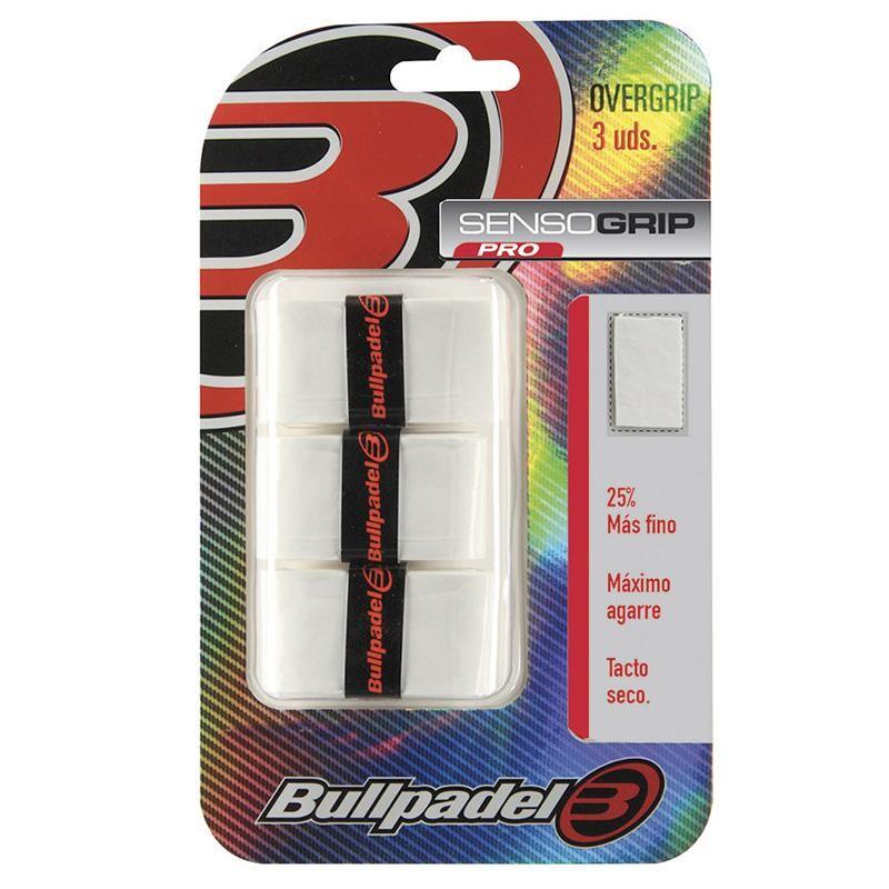 Overgrips Bullpadel Sensogrip GB1603 Blancos
