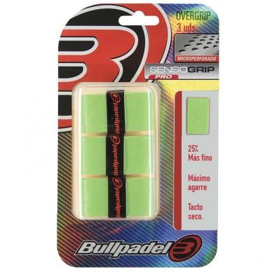 BullpadelOvergrips Bullpadel Sensogrip Microperforados GB1705 Verdes