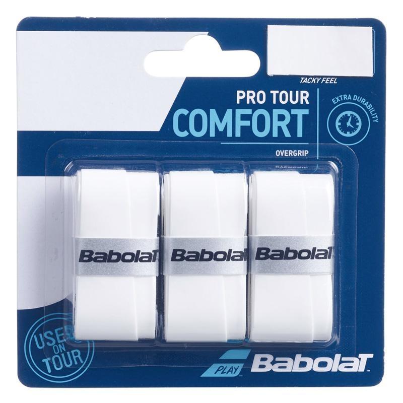 Overgrips Babolat Pro Tacky X3 Blancos