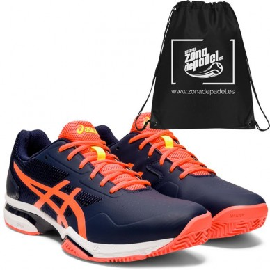 Asics Gel Lima Padel 2 Peaconat Flash Coral 2020