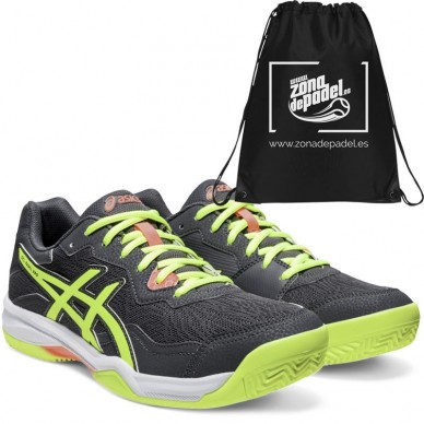 Asics Gel Padel Pro 4 Carrier Grey Safety Yellow 2020