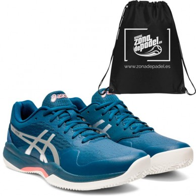 AsicsAsics Gel Game 7 Clay Mako Blue Pure Silver 2020