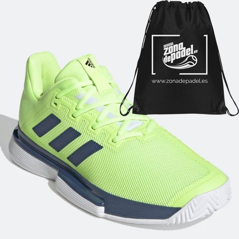 Zapatillas Adidas SoleMatch Bounce Verdes 2020