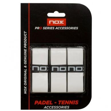 NoxOvergrips Nox Extra Grip Blancos 3 unidades
