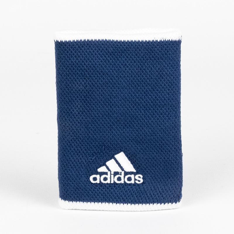 Muñequeras Adidas Tennis WB L Blue White 2020