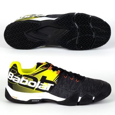 Zapatillas Babolat Movea Men Black Yellow 2020
