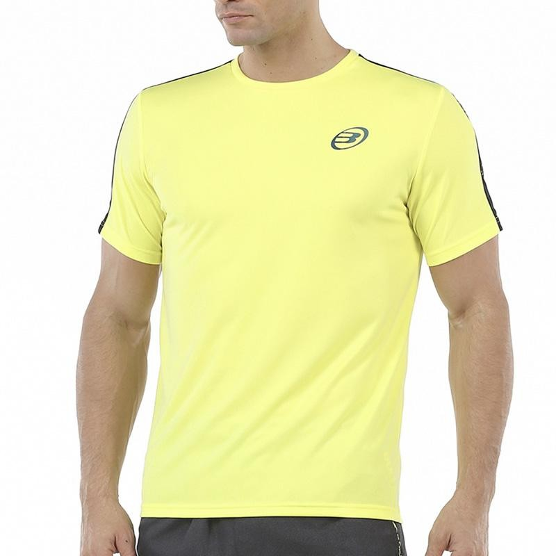 Camiseta Bullpadel Urkita Amarillo 2020