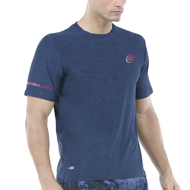 Camiseta Bullpadel Union Azul Marino Vigore