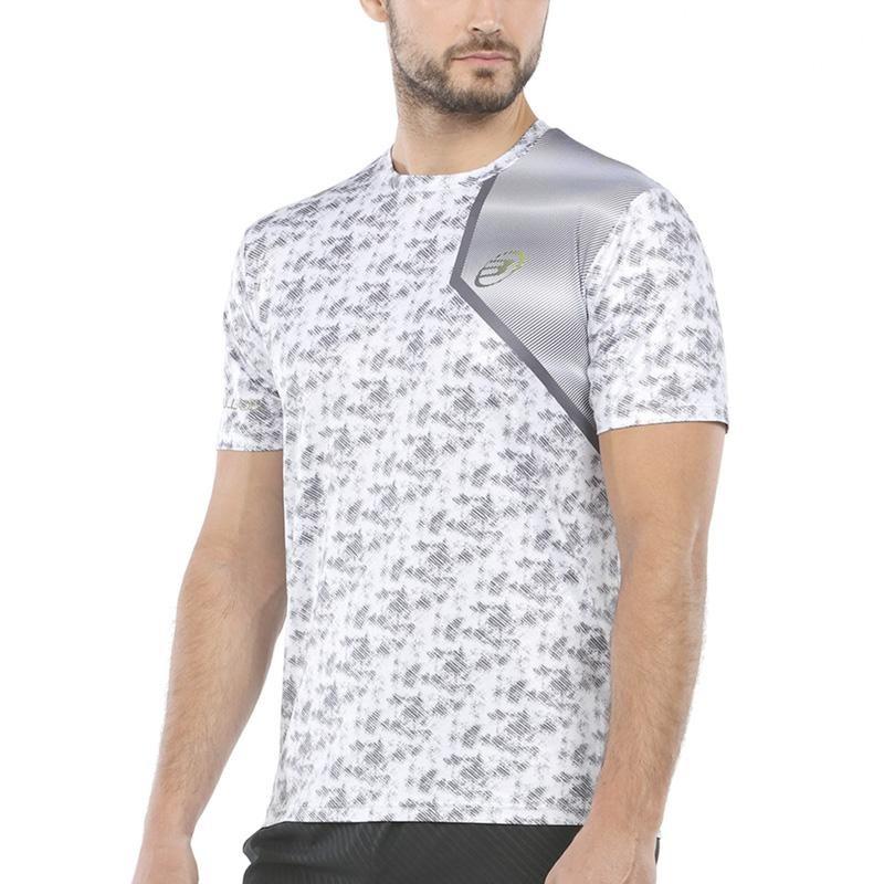 Camiseta Bullpadel Uriarte Gris Claro