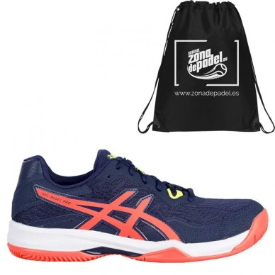 AsicsAsics Gel Padel Pro 4 Peaconat Flash Coral 2020