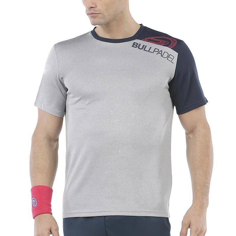 Camiseta Bullpadel Unut Gris Vigore
