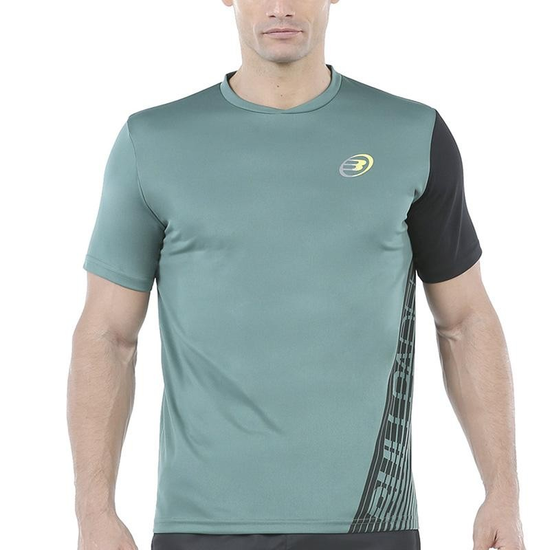 Camiseta Bullpadel Ugur Verde Viridian