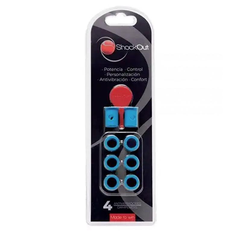 Antivibrador Padel Shockout Azul