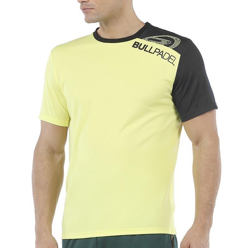 Camiseta Bullpadel Unut Amarilla