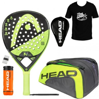 Head Pack Graphene 360 Alpha Pro V + Paletero