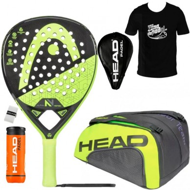 Head Pack Head Graphene 360 Alpha Motion V + Paletero