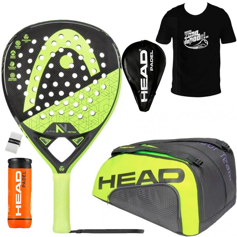 Pack Head Graphene 360 Alpha Motion + Paletero 2019