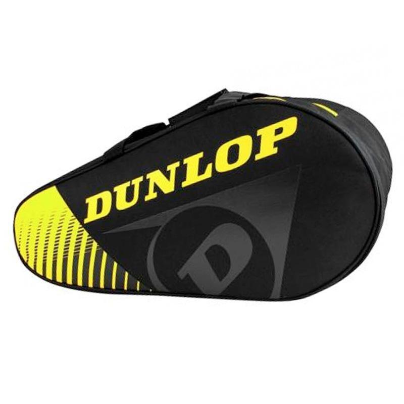 Paletero Dunlop Termo Play Negro y Amarillo 2020