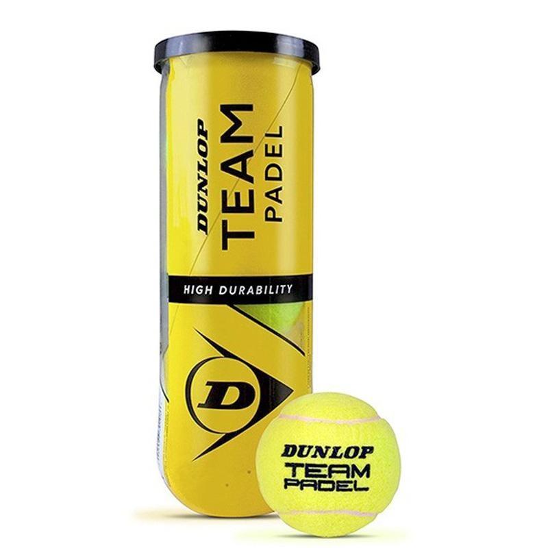 Pelotas Dunlop Team Padel 3 Unidades