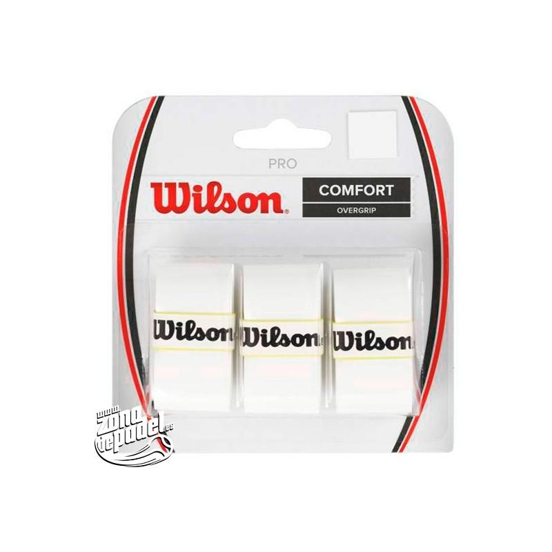 Overgrips Wilson Comfort blancos