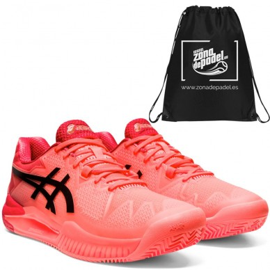 AsicsAsics Gel Resolution 8 Clay Tokyo Flash Coral 2021