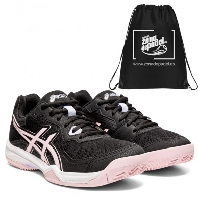 AsicsAsics Gel Padel Pro 4 SG Woman Black Pink Salt 2021