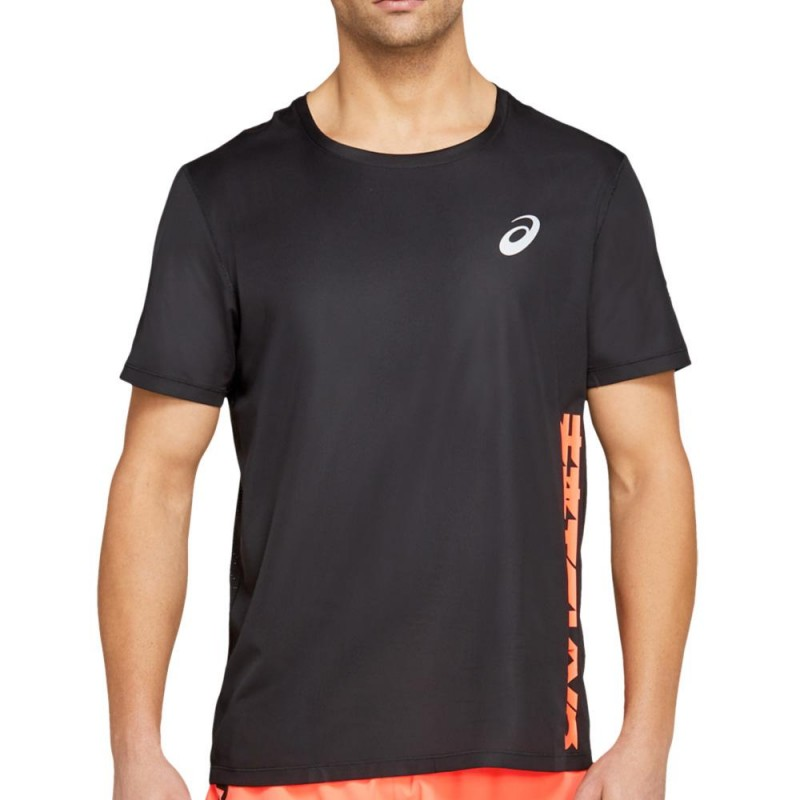 Camiseta Asics Future Tokyo Ventilate SS Top Performance Black
