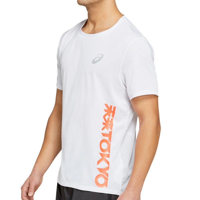 Camiseta Asics Future Tokyo Ventilate SS Top Brilliant White