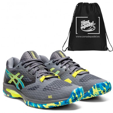 AsicsAsics Gel Padel Lima FF Carrier Grey Digital Aqua 2021