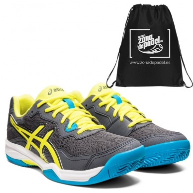 AsicsAsics Gel Padel Pro 4 Carrier Grey Sour Yuzu 2021