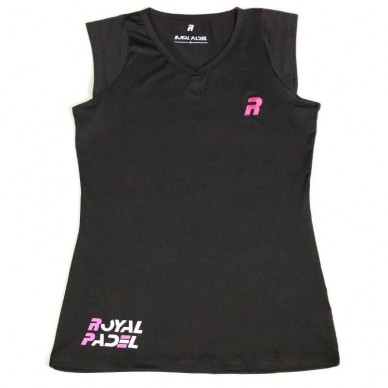 Royal PadelTop Royal Padel Woman Negro