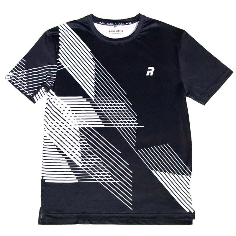 Camiseta Royal Padel Tech Negra