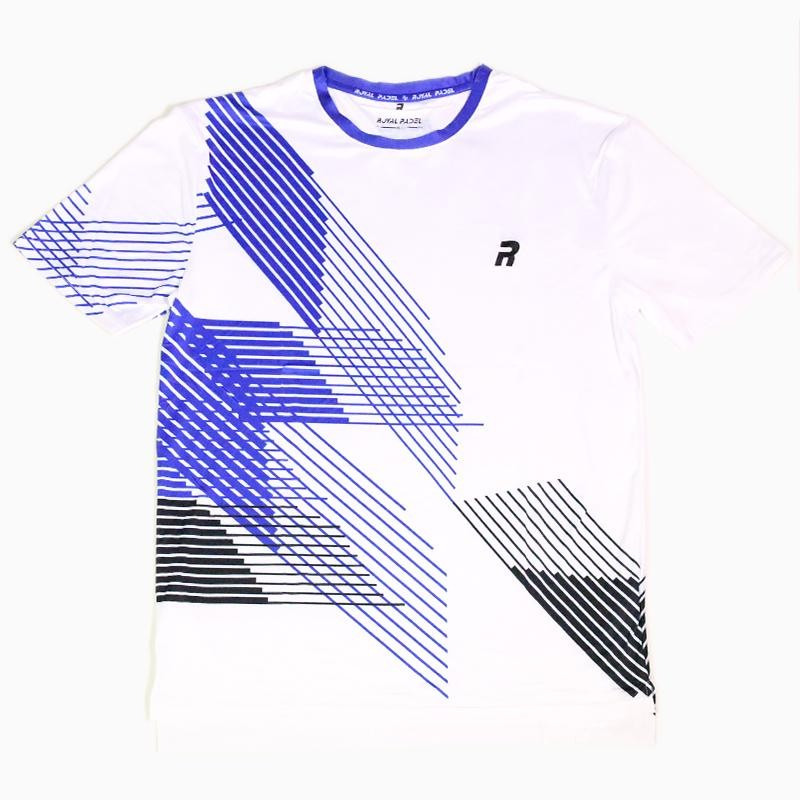 Camiseta Royal Padel Tech Blanca
