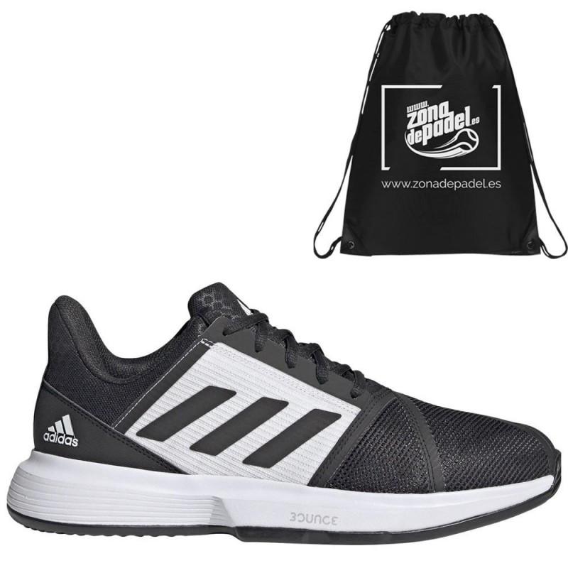 Zapatillas Adidas CourtJam Bounce M Clay Core Black 2021