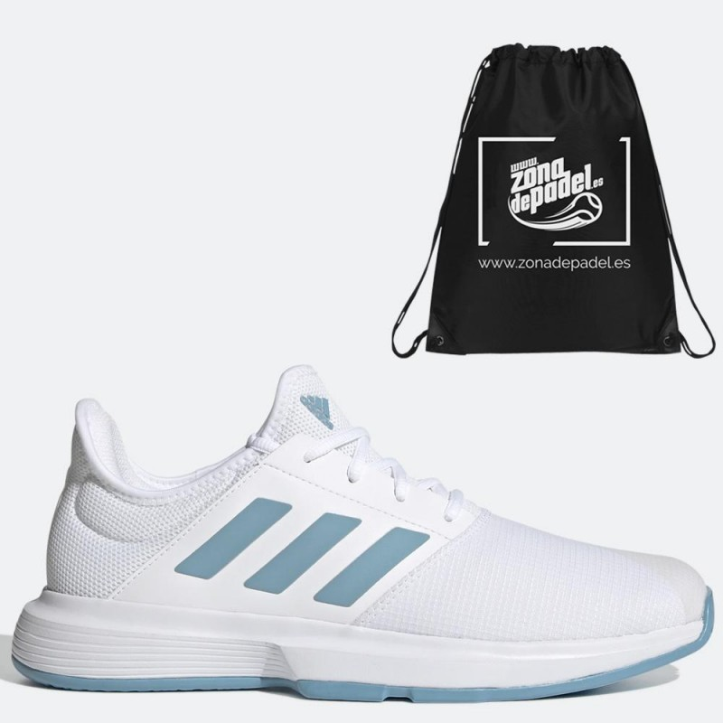 Zapatillas Adidas GameCourt M White Hazy Blue 2021