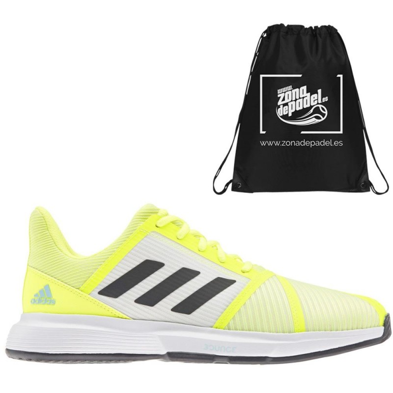 Zapatillas Adidas CourtJam Bounce M Solar Yellow 2021