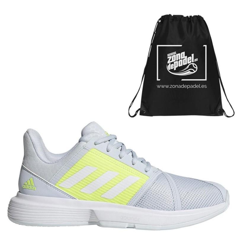 Zapatillas Adidas CourtJam Bounce W Halo Blue White 2021
